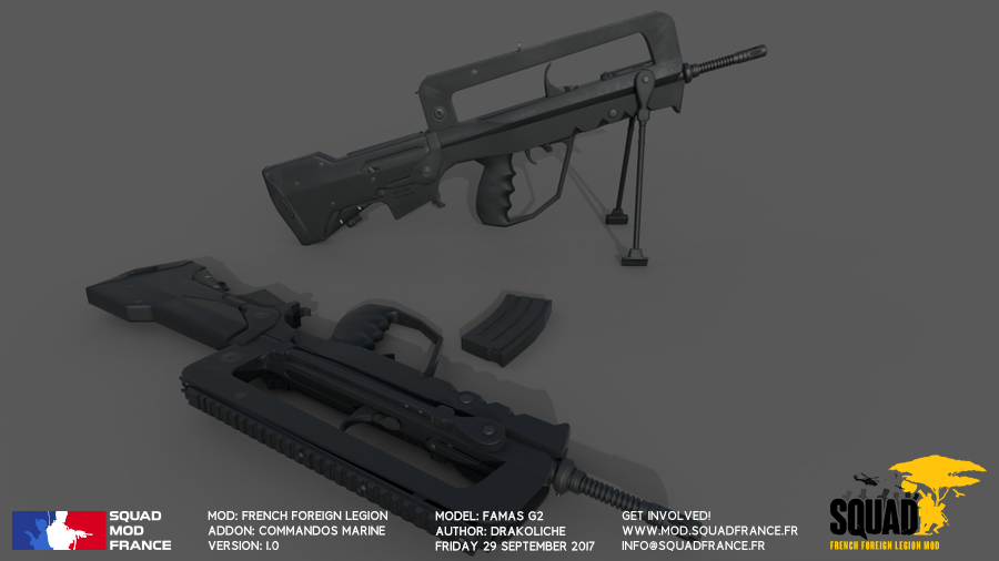 Work In Progress #9   Individual Weapons and more - Squad
